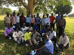 South Sudanese pastors